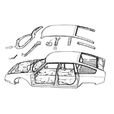 Citroën CX Karosserie