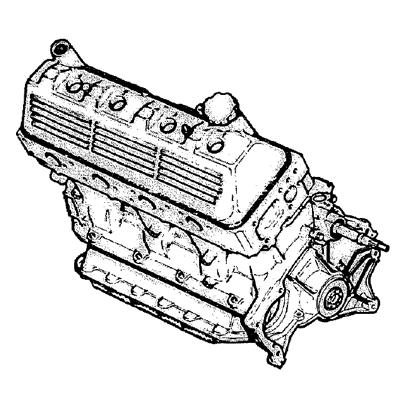 Citroën CX Motor /Kupplung / Getriebe