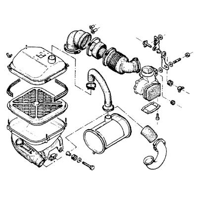 Citroën CX Organteile außerhalb Motor